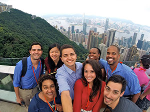 USC Price Students in Hong Kong